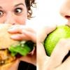 3 сорта продуктов питания: учимся быть здоровыми!
