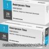 Анастрозол-Тева – инструкция, применение, аналоги, состав, побочные действия