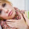 Боль и воспаление горла у человека