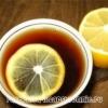 Чай с лимоном – польза, калорийность, приготовление