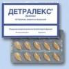 Детралекс: применение в медицинской практике, инструкция по применению, аналоги препарата