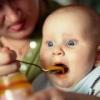 Фруктовые и овощные пюре для ребенка