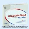 Индапамид Ретард (таблетки) - инструкция, применение, о показаниях, противопоказаниях, действии, побочных эффектах, аналогах, составе, дозировке