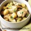Как приготовить курицу с картофелем?