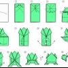 Как сделать прыгающую лягушку из бумаги на пальцы: схема изготовления