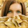 Картошка в уходе за кожей женщины