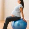 Комплекс упражнений на фитболе для беременных