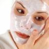 Крахмальная маска при покраснении и не только
