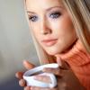 Макияж для голубых глаз и русых волос