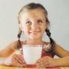 Молоко для питания детей дошкольного и школьного возраста