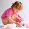 Народное лечение запоров у детей