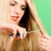 Народные средства лечения секущихся волос
