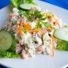 Оливье: салат по классическому французскому рецепту, рецепт классический с мясом, с курицей, с колбасой