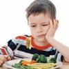 Овощи в питании маленького ребенка