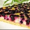 Пирог с черникой замороженной. 5 рецептов черничных пирогов