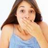Появление неприятного запаха изо рта