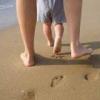 Полезно ходить босиком по песку