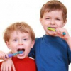 Полость рта маленького ребенка