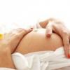 Предлежание плода у беременной женщины