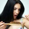 Причина выпадения волос у женщин