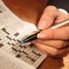 Разгадывание кроссвордов снижает риск старческого слабоумия