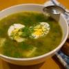 Щавелевый суп: рецепт. Как приготовить щавелевый суп?