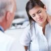 Симптомы грыжи шейного отдела позвоночника