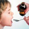 Сиропы при болезни для маленького ребенка
