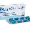 Таблетки Редуксин для похудения – отзывы