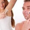 Удаление волос на теле у мужчин и женщин