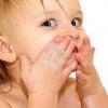 Уход за нежной кожей ребенка