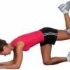 Упражнения для бедер и ягодиц для похудения