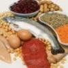 В каких продуктах питания содержится белок?