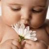 Здоровая кожа маленького ребенка