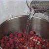 Желе из красной смородины и малины